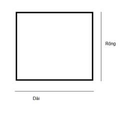 cách đo kích thước kính mặt bàn hình vuông và hình chữ nhật