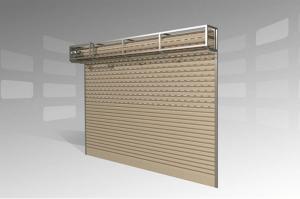Tìm hiểu chi tiết cấu tạo cửa cuốn & cấu tạo phụ kiện ray, trục cửa
